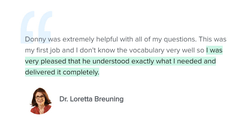 Testimonial Dr. Loretta Breuning
